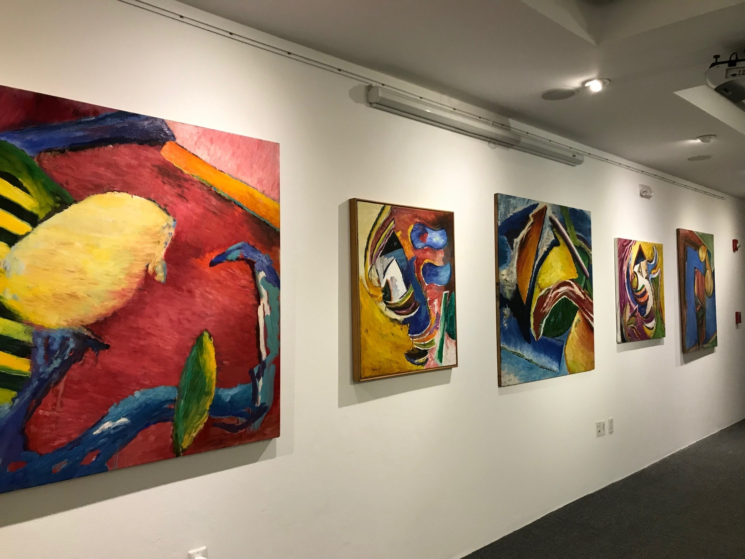 Bendel Hydes exhibition 2019 at the National Gallery of the Cayman Islands