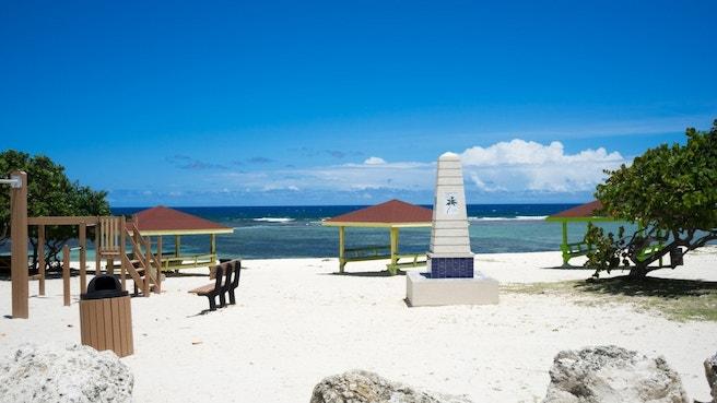 Coe Wood Public Beach Cabanas