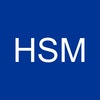 HSM Blue Background Logo
