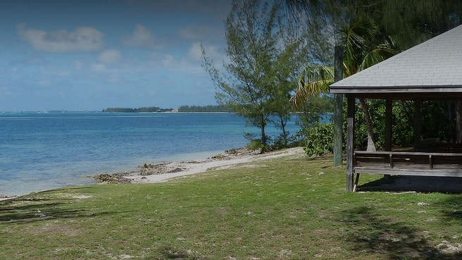 View of Heritage Beach pavillion