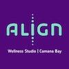 Align square logo