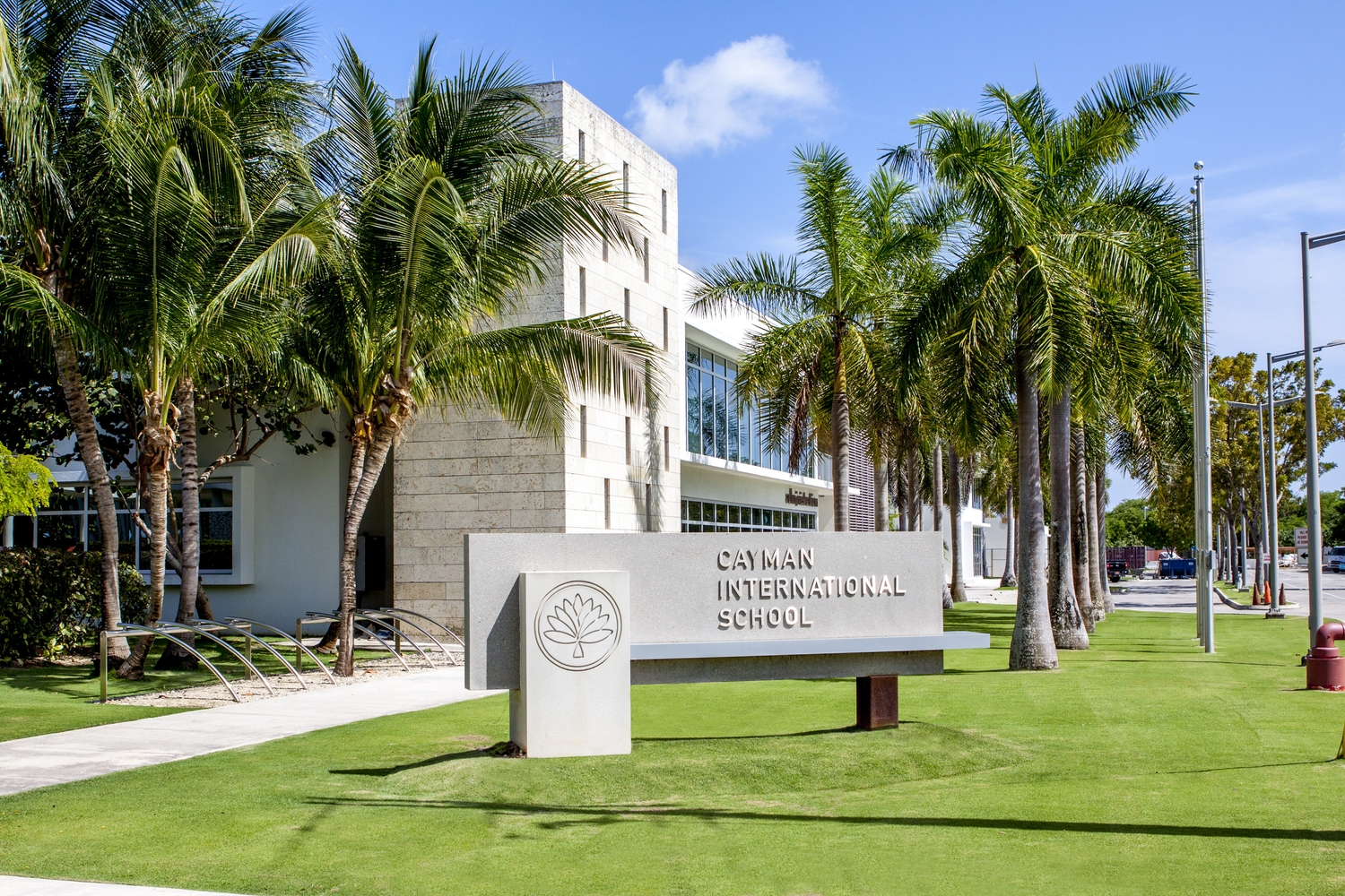 Front of cayman international school private